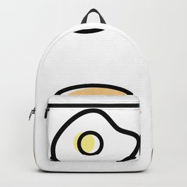 Breakfast Icons Backpack