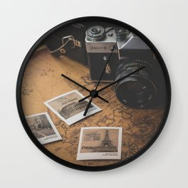 Pure Wanderlust (Photographs Traveling the World) Wall Clock