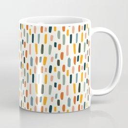 Rainbow Confetti Pattern Coffee Mug