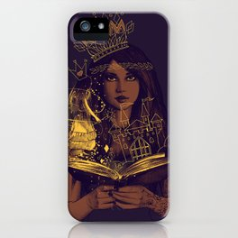 THE BELIEF OF CHILDHOOD iPhone Case