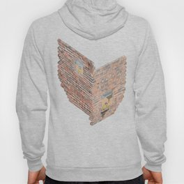 2 dimensions of separation - brick neighbour lovers Hoody