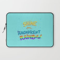 Magnificent Rainbow Laptop Sleeve