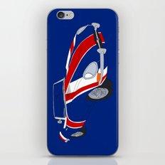 Shaguar (On Blue) iPhone & iPod Skin