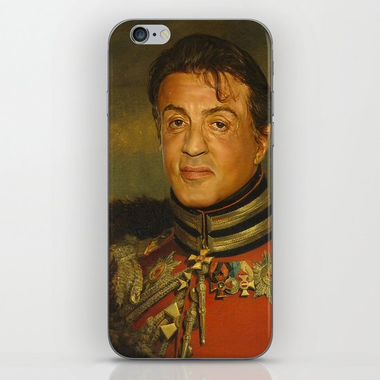 sylvester stallone replaceface iphone ipod skin by replaceface society6. Black Bedroom Furniture Sets. Home Design Ideas