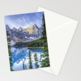 Moraine Lake #landscape #photography Stationery Cards