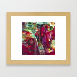 """True Nature"" Original Painting by Flora Bowley Framed Art Print"