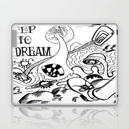 Step into a Dream  Laptop & iPad Skin