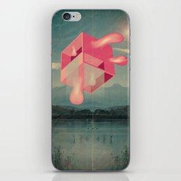 bucolico cubolo iPhone Skin