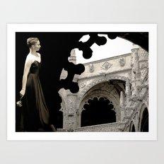 Danse architecture Art Print