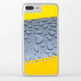 HDR Raindrops Clear iPhone Case