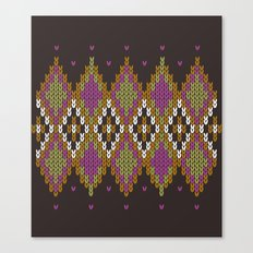Argyle Dream Canvas Print