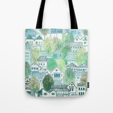 Cambodian Village Tote Bag