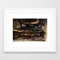 theater Framed Art Prints featuring Theater  by Stephen Wilbert Photography