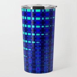 Blue in Shadows Travel Mug