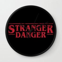 Stranger Danger 2 Wall Clock