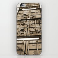 industrial iPhone & iPod Skins featuring Industrial by Samantha