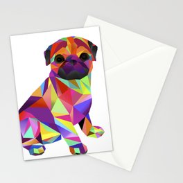Pug Dog Molly Mops Stationery Cards