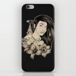 Plague Witch iPhone Skin