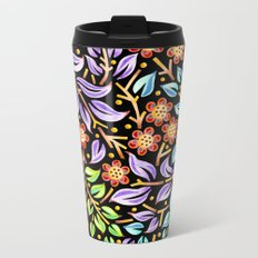 Filigree Flora Metal Travel Mug