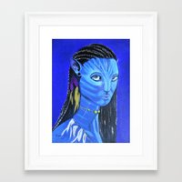 avatar Framed Art Prints featuring Avatar by maggs326