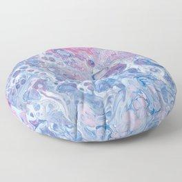Suminagashi Japanese Paper Marbling Art Floor Pillow