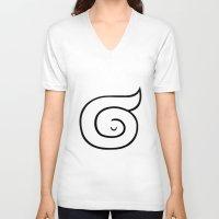 sleep V-neck T-shirts featuring sleep by simon oxley idokungfoo.com