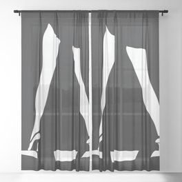 The Lady Sheer Curtain