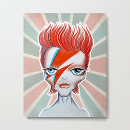 Ziggy Metal Print