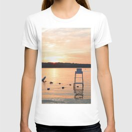 Summer Sunset Over Lake T-shirt