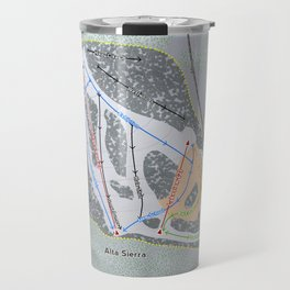 Alta Sierra Resort Trail Map Travel Mug