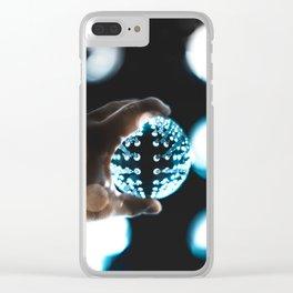 Bokeh LACMA Clear iPhone Case