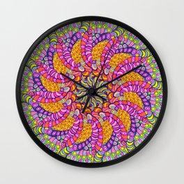 Pinwheel 3 Wall Clock