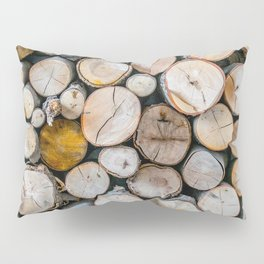 Logged Pillow Sham