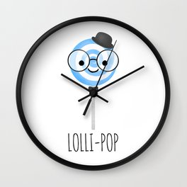 Lolli-pop Wall Clock
