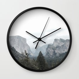 Mountains are calling Wall Clock