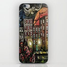 Night Watchman iPhone Skin