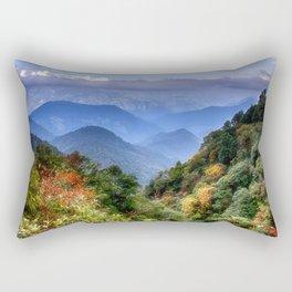 The Himalayas of Bhutan Rectangular Pillow