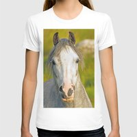 pony T-shirts featuring Welsh Pony  by Doug McRae