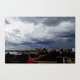 Shady Weather in Sydney Canvas Print
