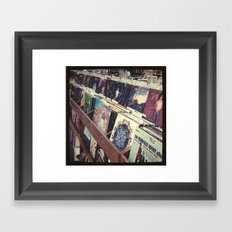 The Record Store (An Instagram Series) Framed Art Print