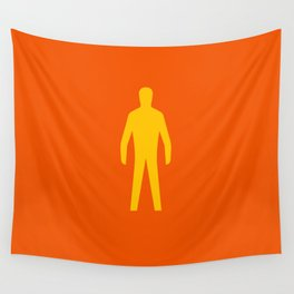 Man Wall Tapestry