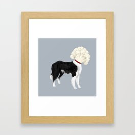 Border Cauliflower Framed Art Print