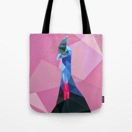 Geometric cassowary Tote Bag