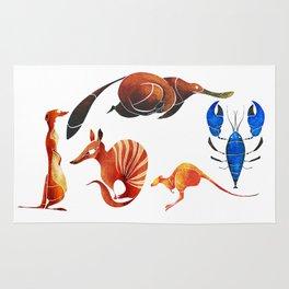 Australian animals 2 Rug
