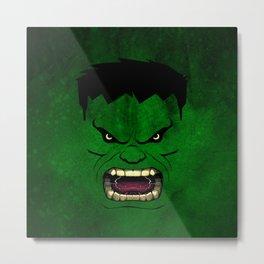 Monster Green Metal Print