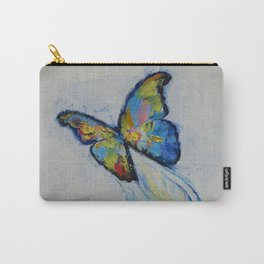 Opal Butterfly Carry-All Pouch