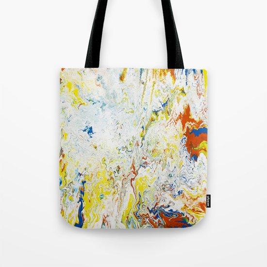 Gravity Painting 24 Tote Bag
