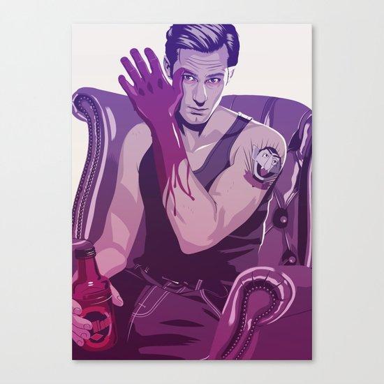 true Blood - Eric/Count Von Count Canvas Print