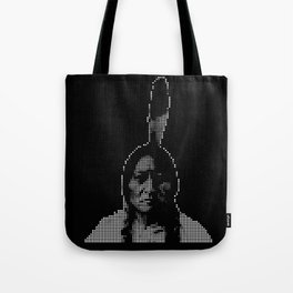 #1 Sitting Bull - RIP (Rest In Pixels) Tote Bag