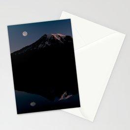 Sunrise over Mount Rainier. Stationery Cards